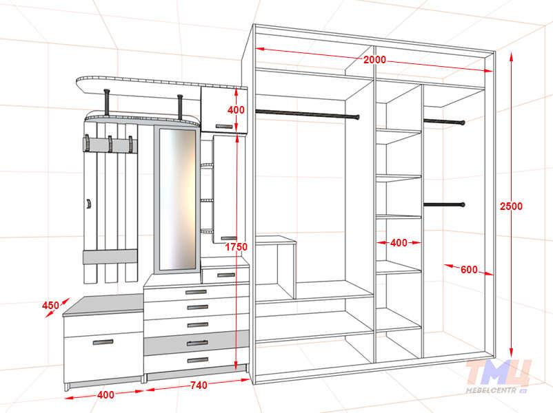 Как сделать шкаф-купе проекты 377